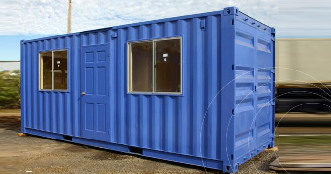 Oficinas m viles global container for Oficinas mobiles